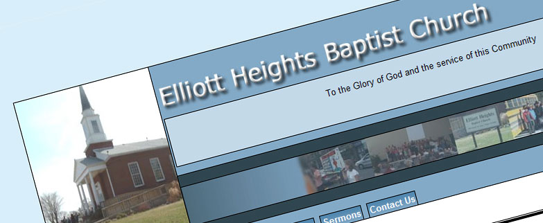 Community and blog websites project - Elliot Heights Baptist Church