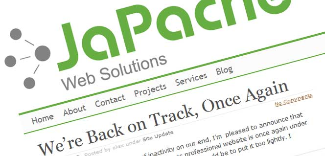 Community and blog websites project - JaPache