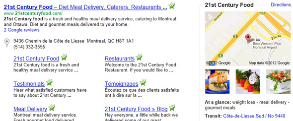 21st Century Food Facelift - Search Engine Optimization