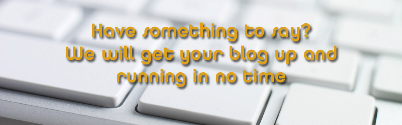 Blog creation services